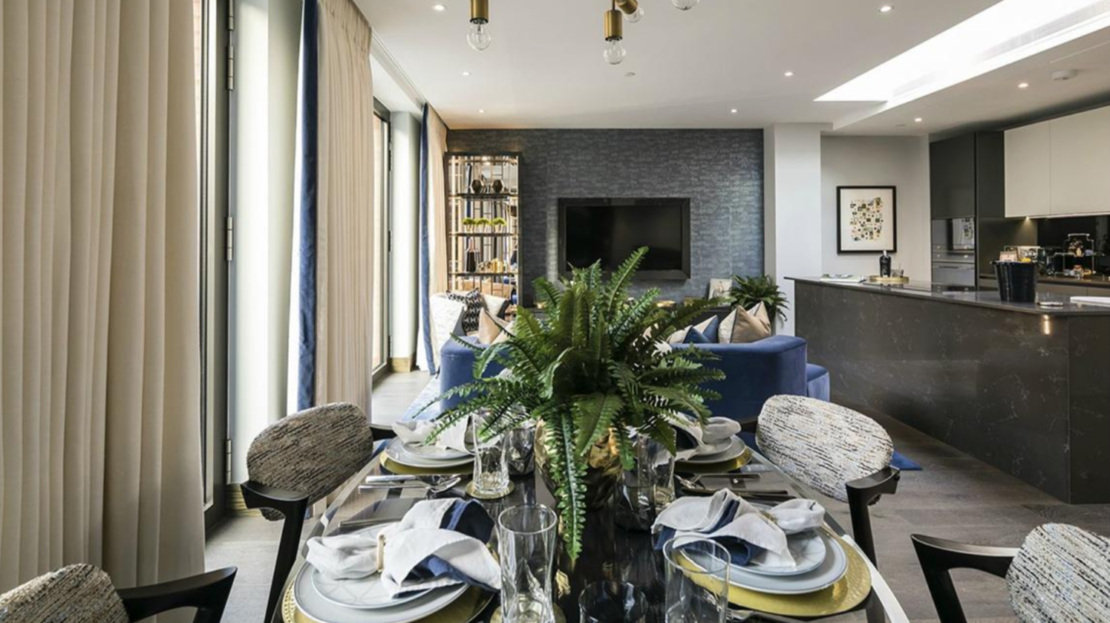 Properties for Sale in West End London. Hanway Gardens. Fitzrovia apartments