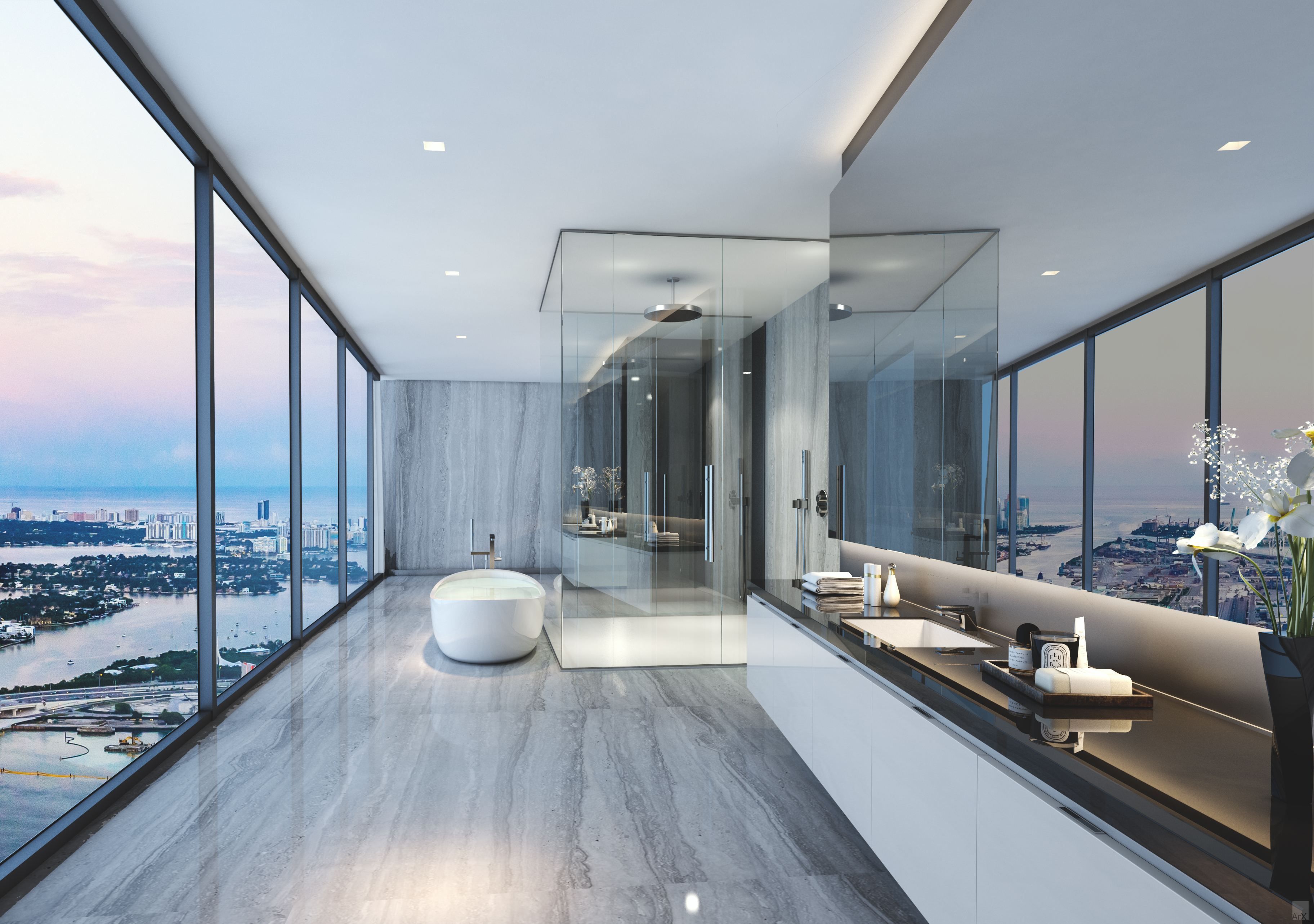 Downtown Miami Apartments for sale. One thousand Museum Residences, Miami  apartments for sale,