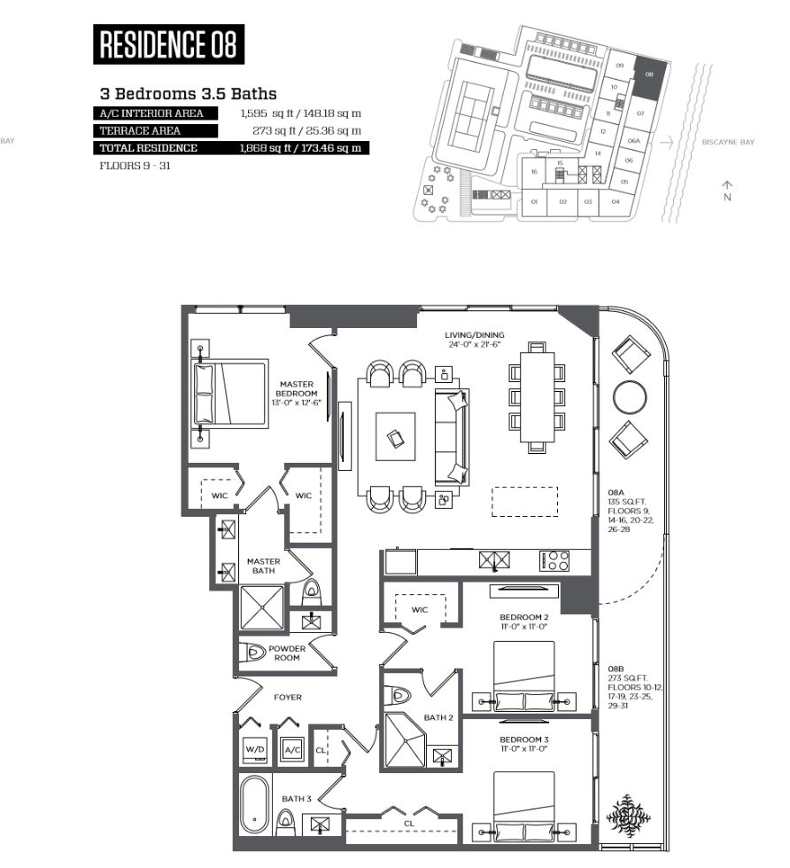 Midtown Miami Apartments For Sale. Hyde MidtownLUXO