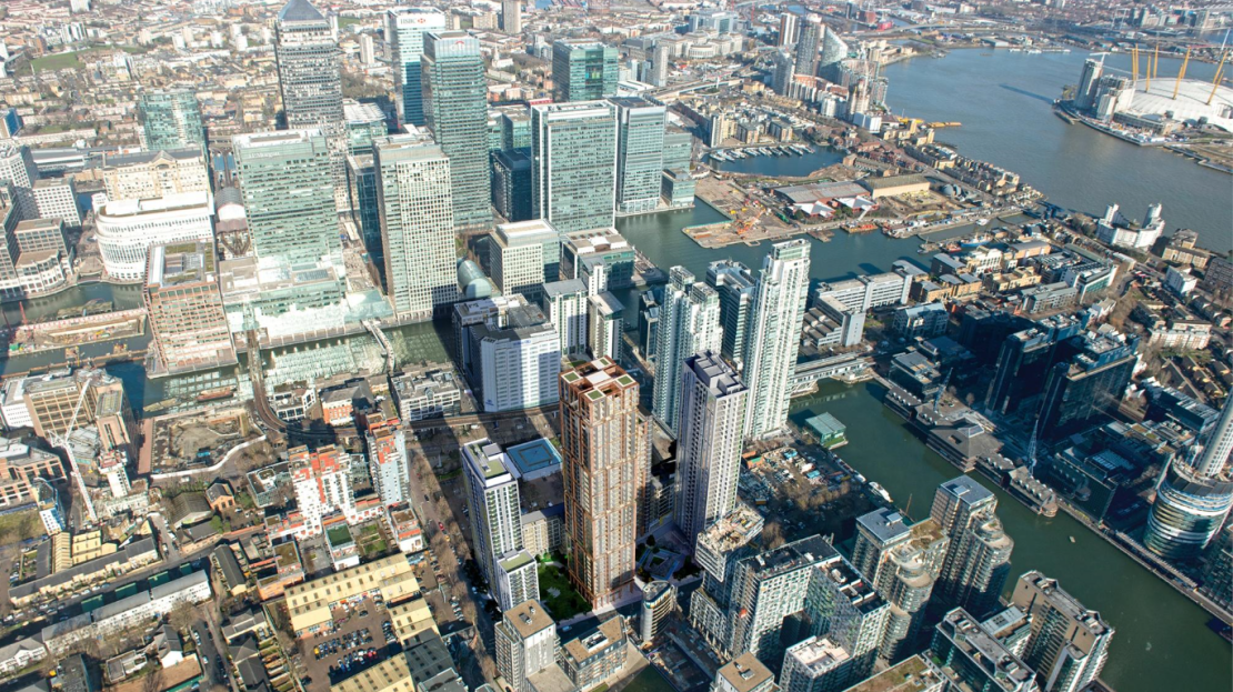 Property for sale in Canary Wharf at Harbour Central