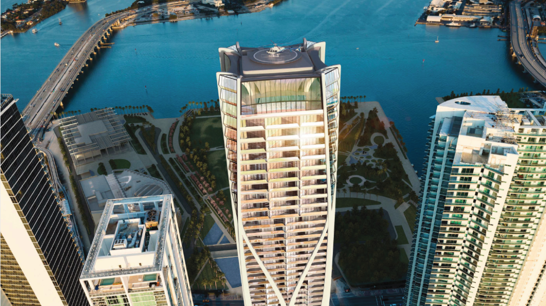 Luxury Miami Penthouses. 1000 Museum Residences - Miami Penthouses