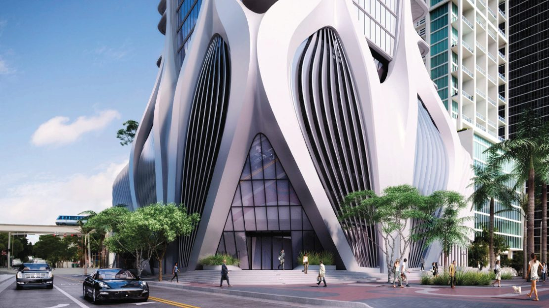 Miami Luxury penthouses. 1000 Museum Residences - Miami Penthouses