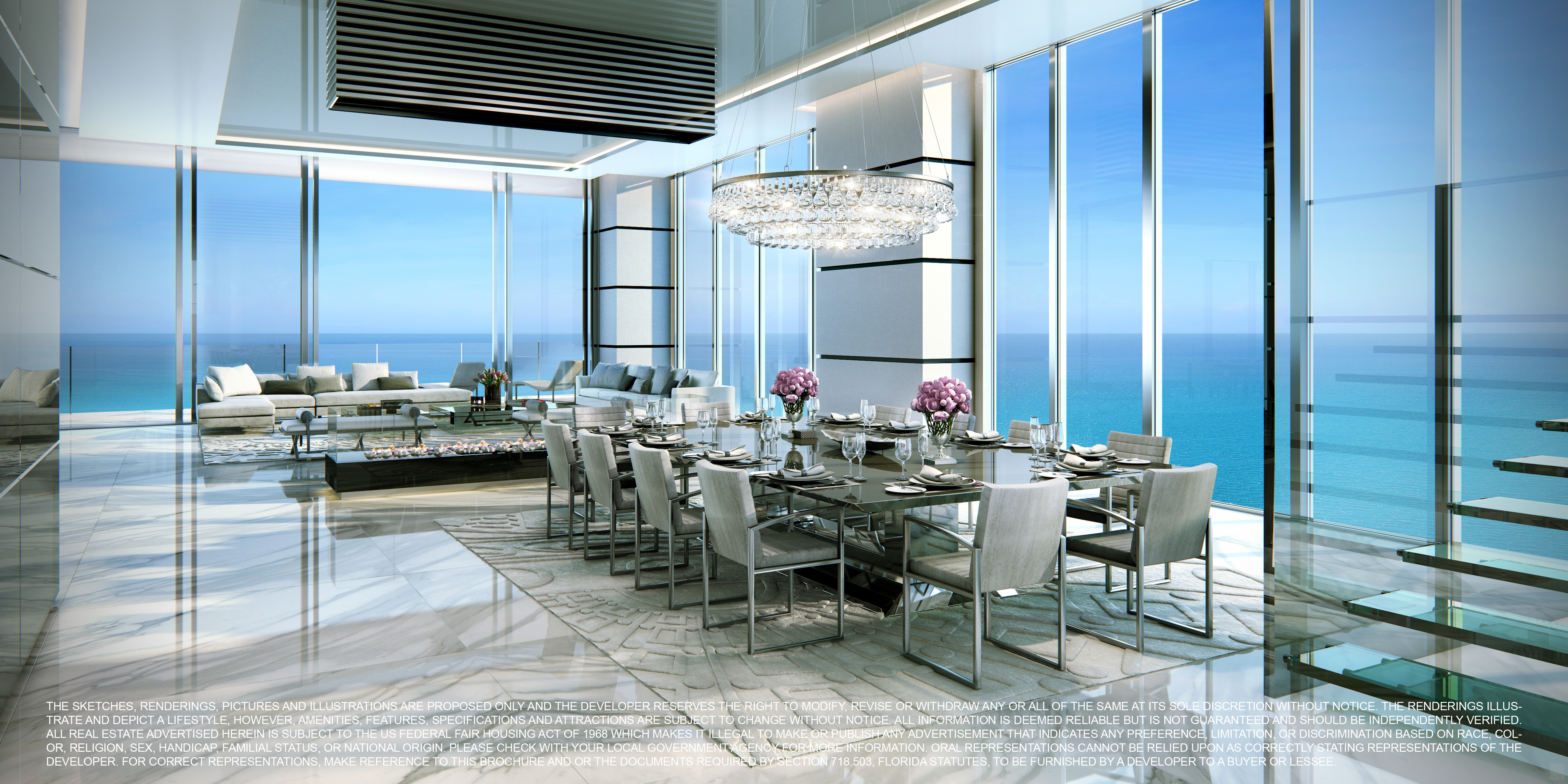 Turnberry Ocean Club Miami Penthouses For Sale Sunny