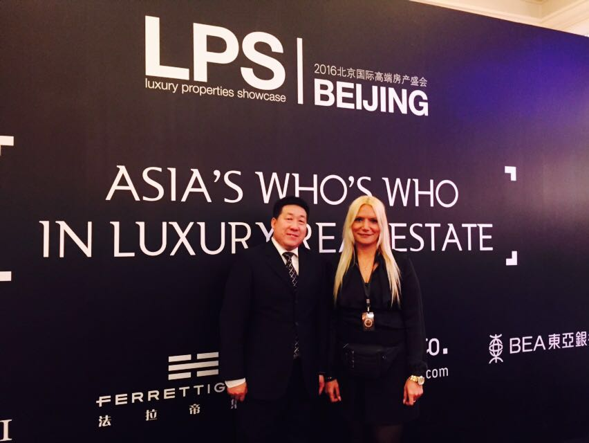 LUXO team showcasing luxury Miami Condos to Chinese Investors at the Beijing Luxury Property Show. Chinese are Largest Foreign Buyers of US Homes