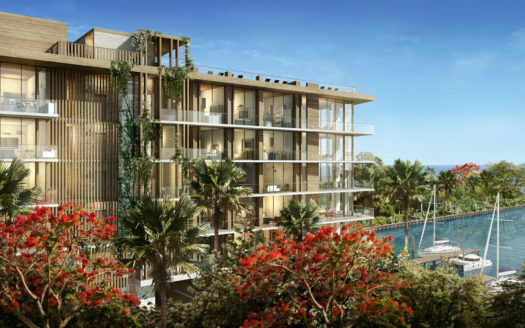 Construction of The Fairchild Coconut Grove Luxury Condos
